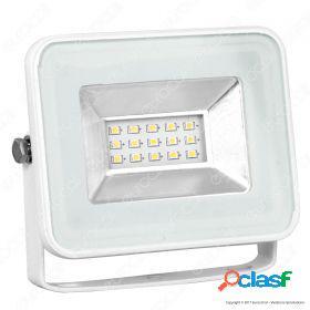 10W LED Floodlight I-Series White Body 6000K
