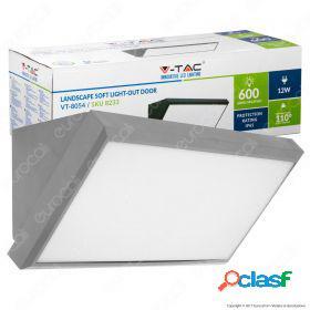 12W LED Landscape Outdoor Soft Light-Medium 3000K Grey Body