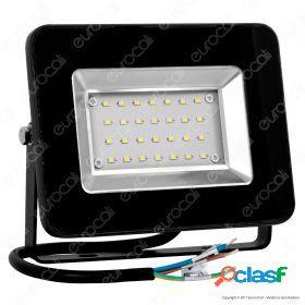 20W LED Floodlight I-Series Black Body 6000K