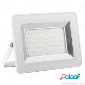 50W LED Floodlight I-Series White Body 6000K
