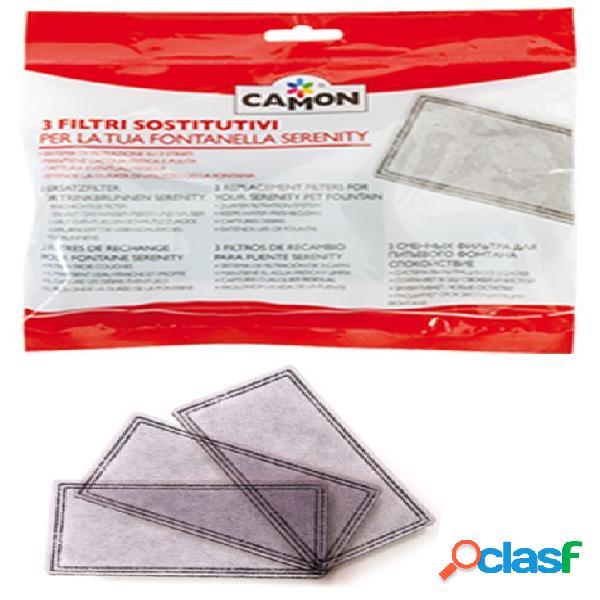 Camon filtri ricambio kit 3 pz. per fontana a747/a