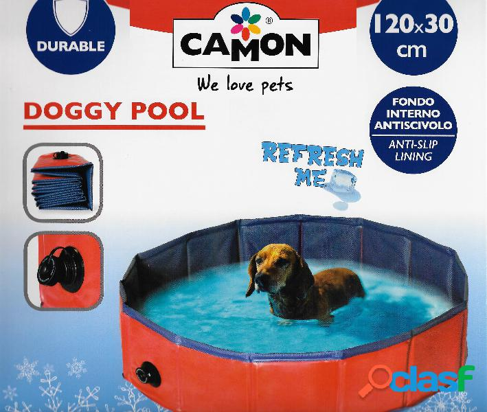 Camon fresh piscina media per cani Ø 120 cm h 30 cm