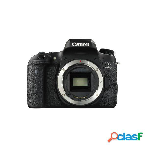 Canon EOS 760D Fotocamera Digitale con Obiettivo 18-55mm