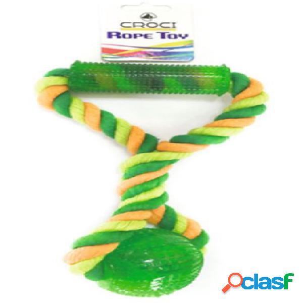Croci gioco palla gomma tpr cotonosso con maniglia 7 cm