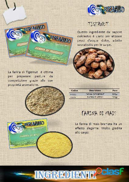 FARINA PER PESCA AL GUSTO DI TIGERNUT 500 gr