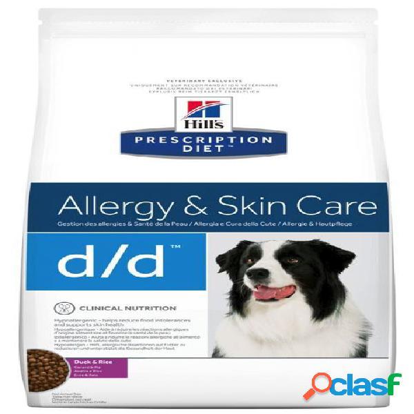 Hill's canine d/d anatra e riso (duck) kg.2 (per cani con