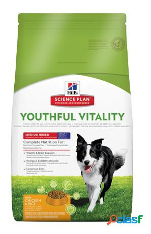 Hill's canine youthful vitality a7+ medio pollo 10 kg