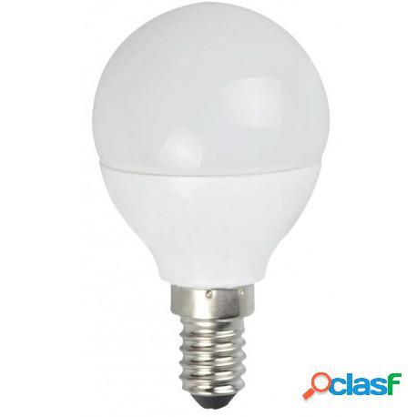 Lampada LED G45-A1 sfera E14 3000K 5 Watt 450 Lm A+