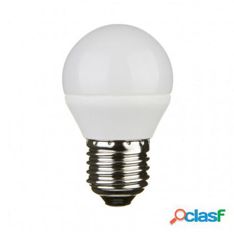 Lampada LED G45-A1 sfera E27 4000K 5 Watt 450 Lm A+
