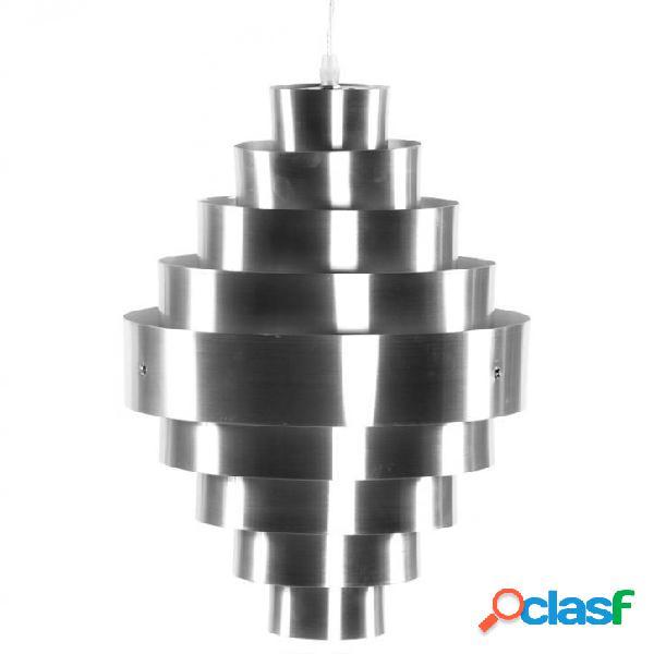 Lampadario sospensione Cilindro in Alluminio
