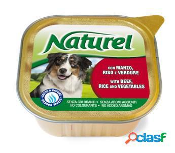 Naturel cane vaschetta gr. 300 manzo
