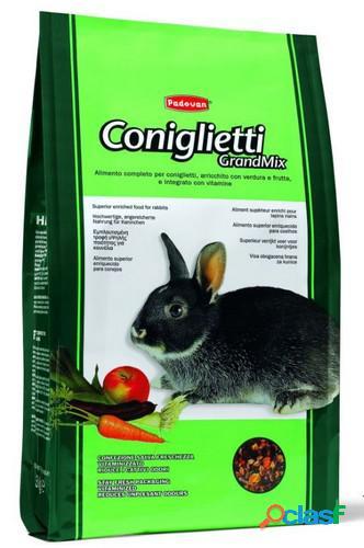 Padovan grandmix coniglietti kg. 3 (alimento completo)