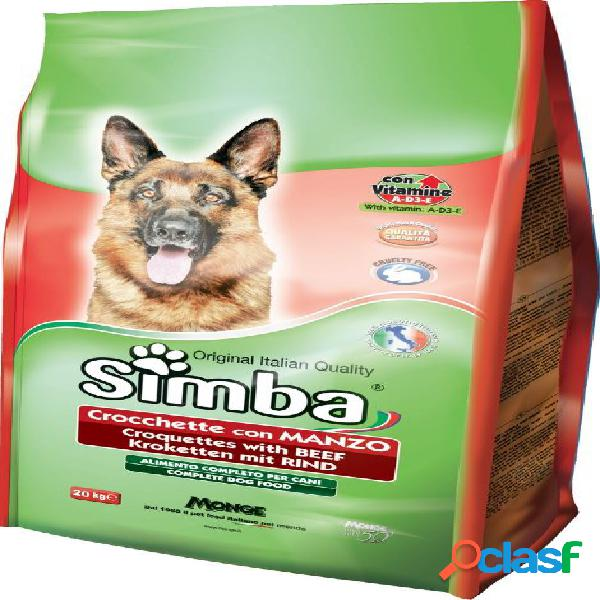 Simba cane crocchette manzo 10 kg