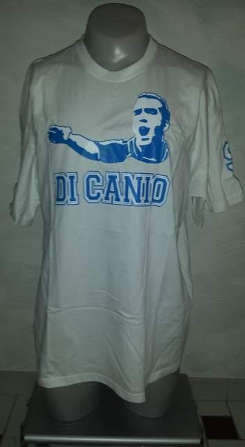 T-shirt lazio di canio calcio nuova con etichette