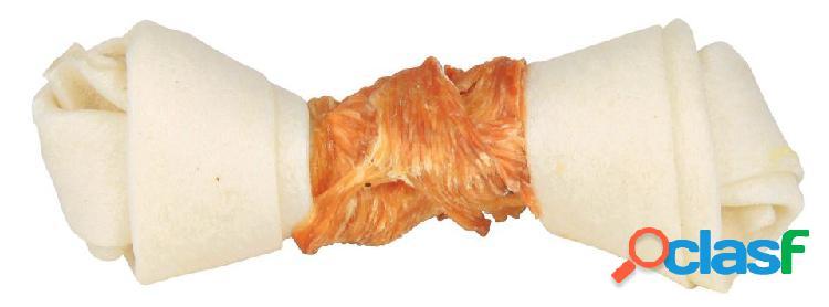 Trixie denta fun osso annodato con pollo gr.70 cm.15 pz.1