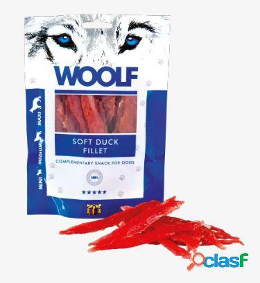 Woolf snack cani monoproteico filetto di anatra essicata 100