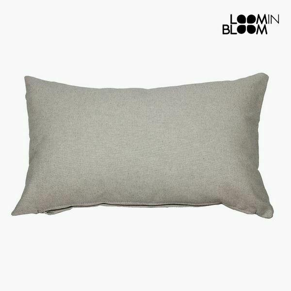 Cuscino cotone e poliestere grigio (30 x 50 x 10 cm) by loom