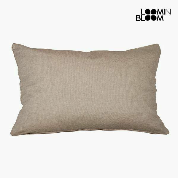 Cuscino cotone e poliestere marrone (30 x 50 x 10 cm) by