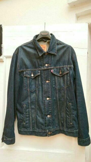 Giacca jeans Levi's uomo XXL