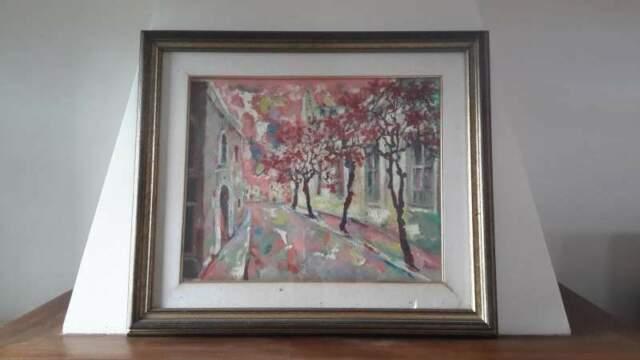 Dipinto a olio del Maestro pittore Renato Bussi Spagna