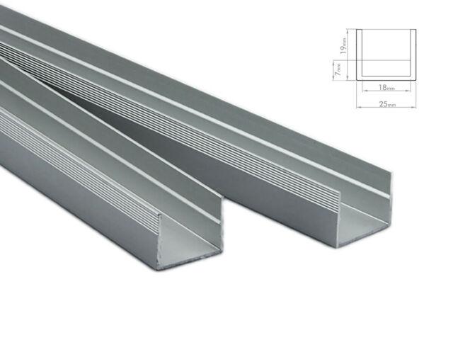Lux ba profilo canalina barra alluminio da pavimento