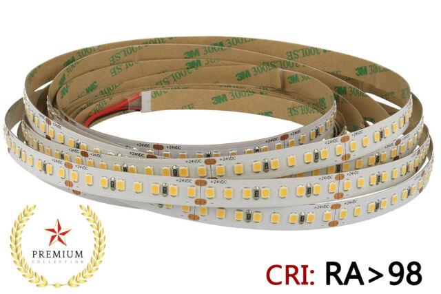 Lux blc 24v bobina led 18w/m cri 98 sun feel bianco