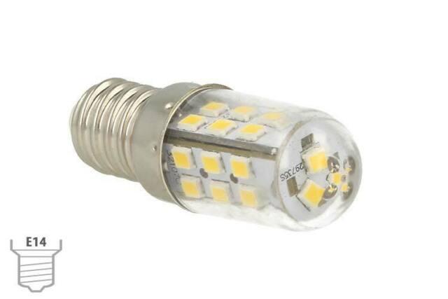 Lux lcc lampada led e14 dc 12v 24v 4w bianco caldo 27
