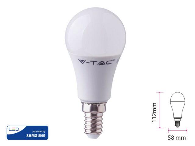 Lux lcf lampada a led e14 a58 9w 806lm bianco freddo