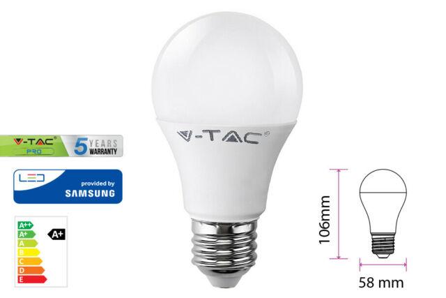 Lux lcf lampada led e27 a58 9w=60w bianco freddo bulbo