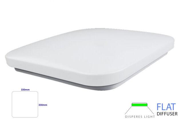 Lux lpn plafoniera a led da soffitto 32w 220v bianco