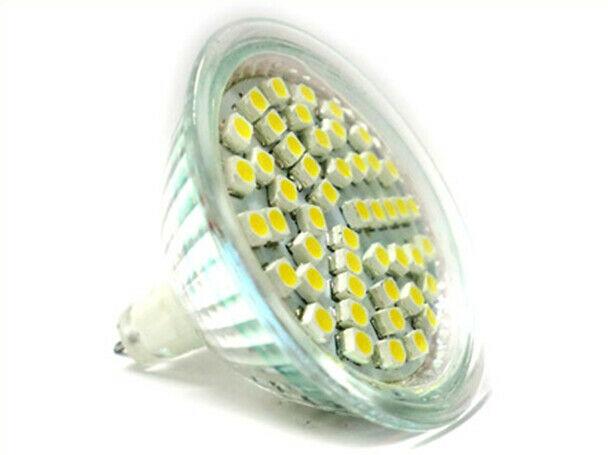 Lux mrf lampada led dicroica mr16 4w 48 smd 12v bianco