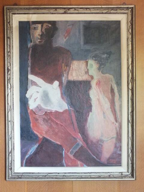 Olio su tela di Giancarlo Braghieri anno  H 100 L 70