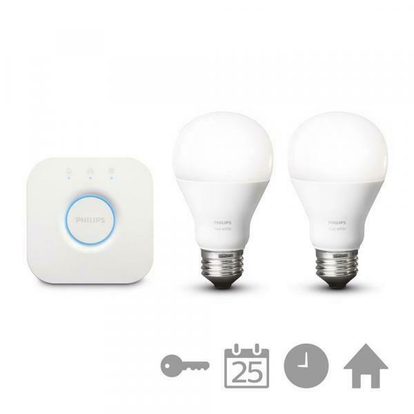 Philips e27 hue white-starter-kit lichtsteuerung 2er set