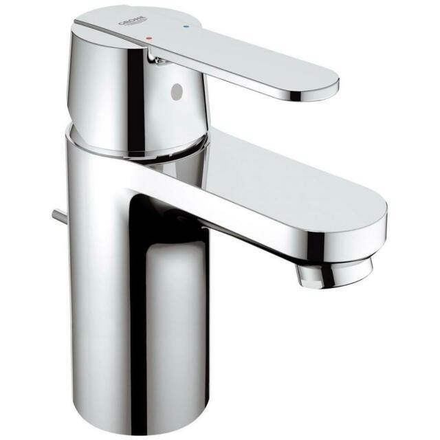 Rubinetto miscelatore per lavabo bagno cromo lucido