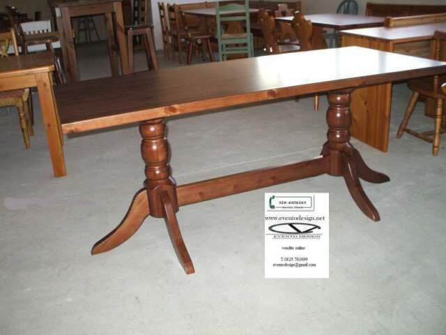 Sostegni tavoli in legno per tavoli da pub ristoranti