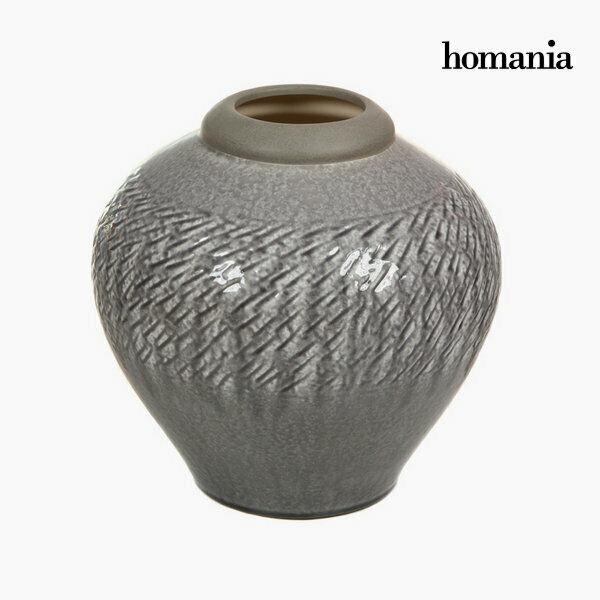 Vaso di ceramica grigio chiaro by homania