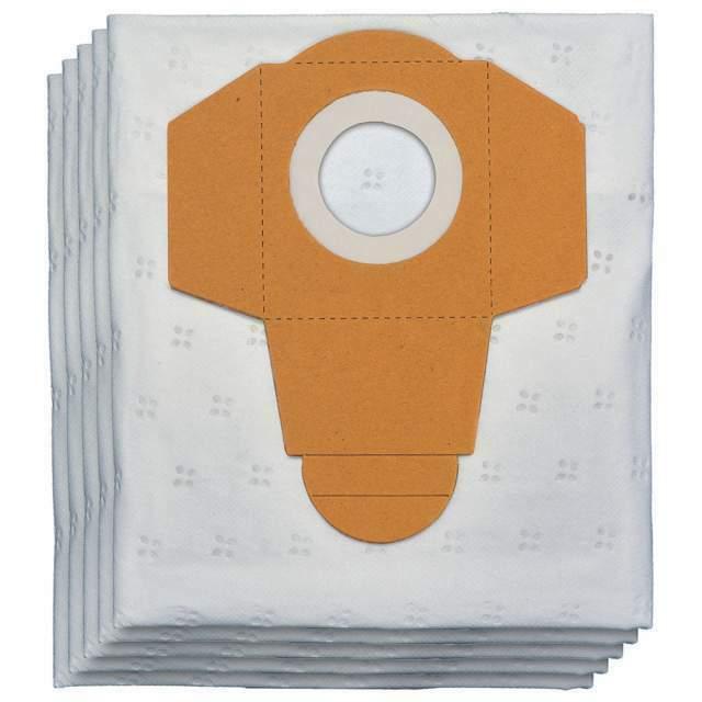 Set 5 Sacchetti Filtro 25 Litri Per Aspirapolvere