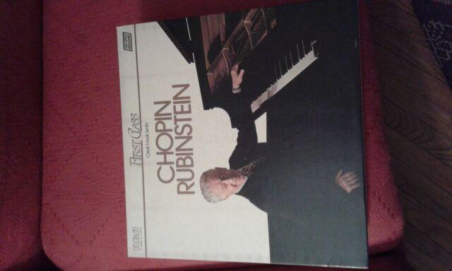 Box 10 LP Chopin Rubinstein RCA