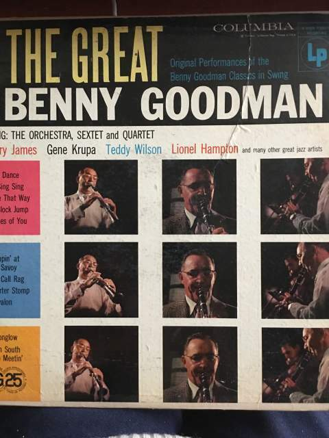Lp the great benny goodman