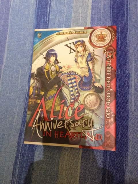 Manga Alice in Heartland La Torre dell'Orologio