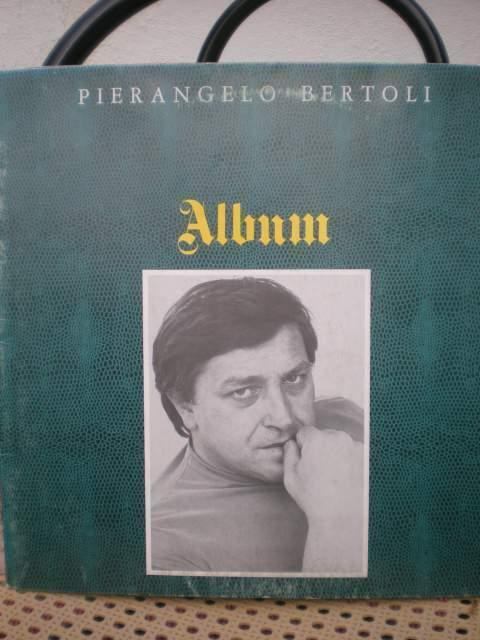 """Pirangelo bertoli """"album"""" 33 giri"""