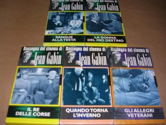Rassegna del Cinema di Jean Gabin