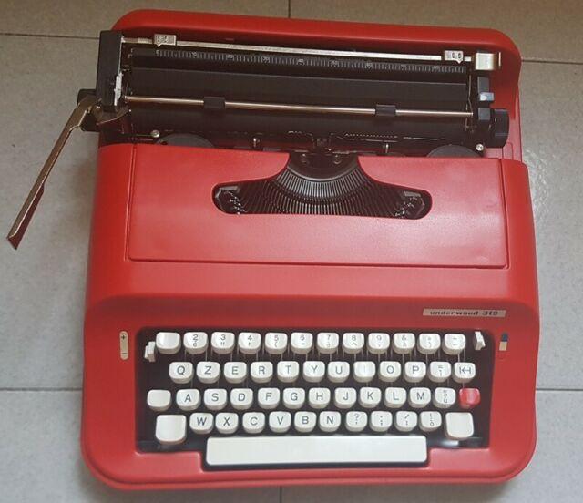 Macchina x scrivere vintage olivetti Underwood 319