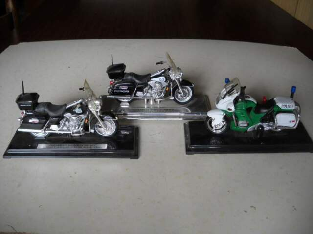 Modellini moto da collezione lotto di 3 pezzi