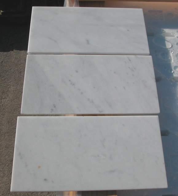 Piastrelle Marmo Bianco Carrara Stock Lucido