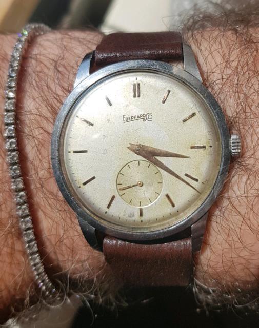 Orologio Eberhard Jambo vintage