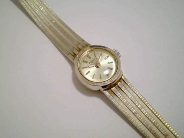 Orologio donna DOYLE (Swiss Made) ORO bianco anni 60'