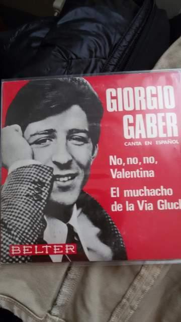Giorgio gaber no non valentina canta in spagnolo e cd