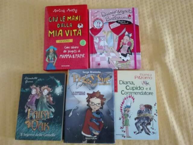 Libri per bambini e ragazzi Fairy Oak- Peggy Sue ed altri