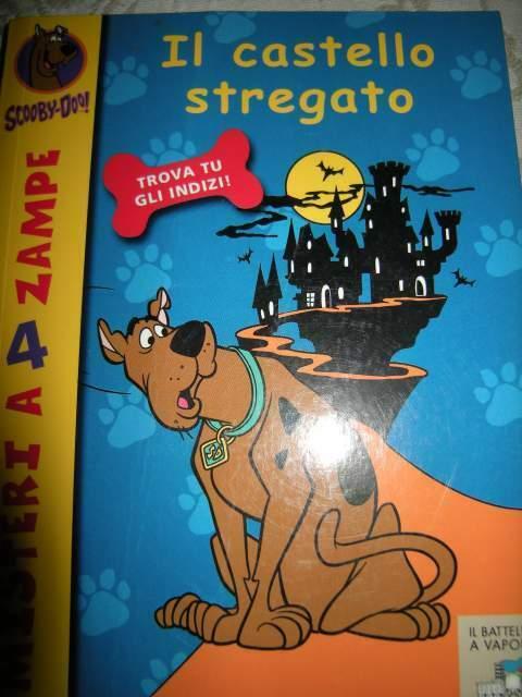 """Scooby Doo e il battello stregato """" edizioni Piemme"""